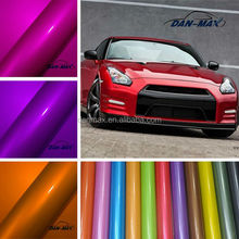 High adhesive glossy beautiful color candy vinyl auto wrap