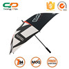 High quality customed photo print automatic open golf umbrella