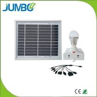 Small solar power system NEW solar panel light kit for rural homes