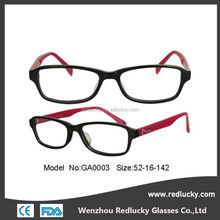 Factory price new metal frame acetate temple optical frame