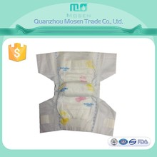 Fluff Pulp Material And Dry Surface Absorption Biodegradable Baby Diaper For Baby