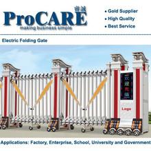 Folding Sliding Gate, Collapsible Gate , Motorized Gate