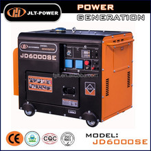 Wholesale 5kw 5kva 220v 230v 400v ac single phase air cooled small electric power portable generator