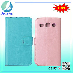 Wholesale Luxury leather flip case for samsung galaxy e7