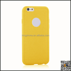 Net grain TPU case for iphone 6 mobile phone case cover factory supply