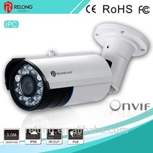 Professional vandalproof long transmission shenzhen ip camera with CE certificate