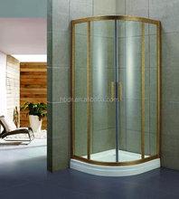 Aluminium frame shower enclosure/ frameless hinge shower screen/ shower screen