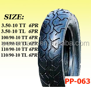 Scooter tires 110/90-10