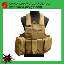 Military US Style Government Anti Stab Army Tactical Vest With Guns Holster
