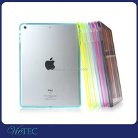 Shenzhen VIC TPU Bumper+ Crystal PC Case for Original iPad 2 Back Cover