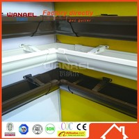 Wanael rain gutter lowes with PVC material