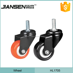 TPR wheel PP center ball caster, Rustic furniture wheel caster, Nylon suitcase caster wheels