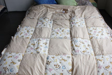 100% cotton soft and warm kids comforter