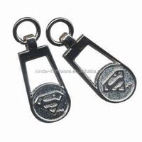Waterproof Metal zipper puller/pin wholesale
