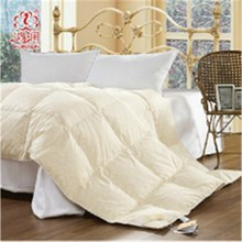 100%poly material duck feather comforter