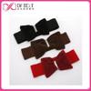 2015 fashion rhinestone suded bow elastic belts for woman