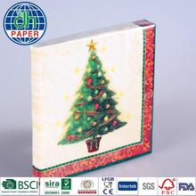 White Airlaid Paper Napkin 40x40 1/4 Fold