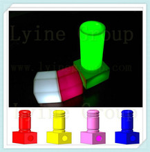 45CM Height 20CM Diameter Sign Round Safety Plastic Pillar with reflective effect