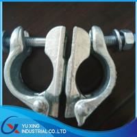 BS1139 British scaffolding double coupler & swivel coupler