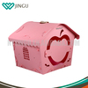 Manufacture price Big eco-friendly plastic dog house designs