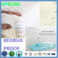 Hotel Quality Supersoft Microfibre Mattress Protector Double Bed - Soft Diamond Quilted & Anti Allergenic Extra Comfort