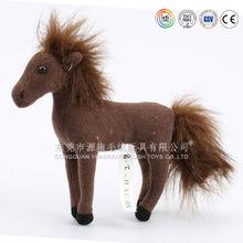 China ICTI plush toys factory stuffed toys manufacture stuffed plush brown horse toys