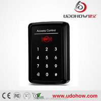 Touch screen rfid smart card door access control