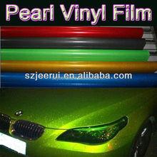 self adhesive heat stretch uvproof waterproof anti scratch 3m quality pearl flashing shining vinyl wrap film for car decoration