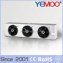 Low temperature DJ series three motors air cooler evaporator for refrigeration parts