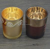 handmade glass candle holder holiday magic cosmetics
