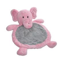Custom baby gym stuffed animal baby play mat plush baby play mat