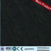 prezzo di fabbrica di foshan 1200x600 ultra sottile piastrelle ingrosso nero piastrelle scintillio