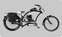 2015 new design 50cc motor chopper bike