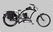 2015 new design 50cc motor chopper bike