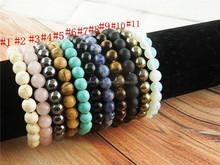CH-JST0441 OEM,ODM bracelet welcome,wholesale stone stretch bracelet,fashion natural gemstone bead elastic bracelet