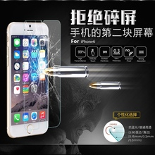 Top Quality 9H 2.5D 0.3mm Explosion Proof Tempered Glass Screen Protector Protective Film for iPhone 6 with Retail Package
