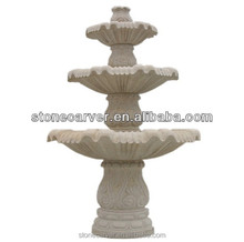 Factory price Outdoor 3 Tier Water Stone Fountain