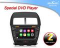 Tela capacitiva mitsubishi asx car dvd 2011 Android 4.4 / wince 6.0
