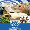 areca nut pinang microwave dryer and puffing machine