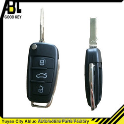 2014 Auto remote key for Audi A6 car (3 button) key replacement