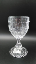 2015 Promotion Food Grade Approved Clear glass Wine Glass