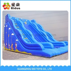 Attractive commercial giant inflatable water slide for adult inflatable amusement park