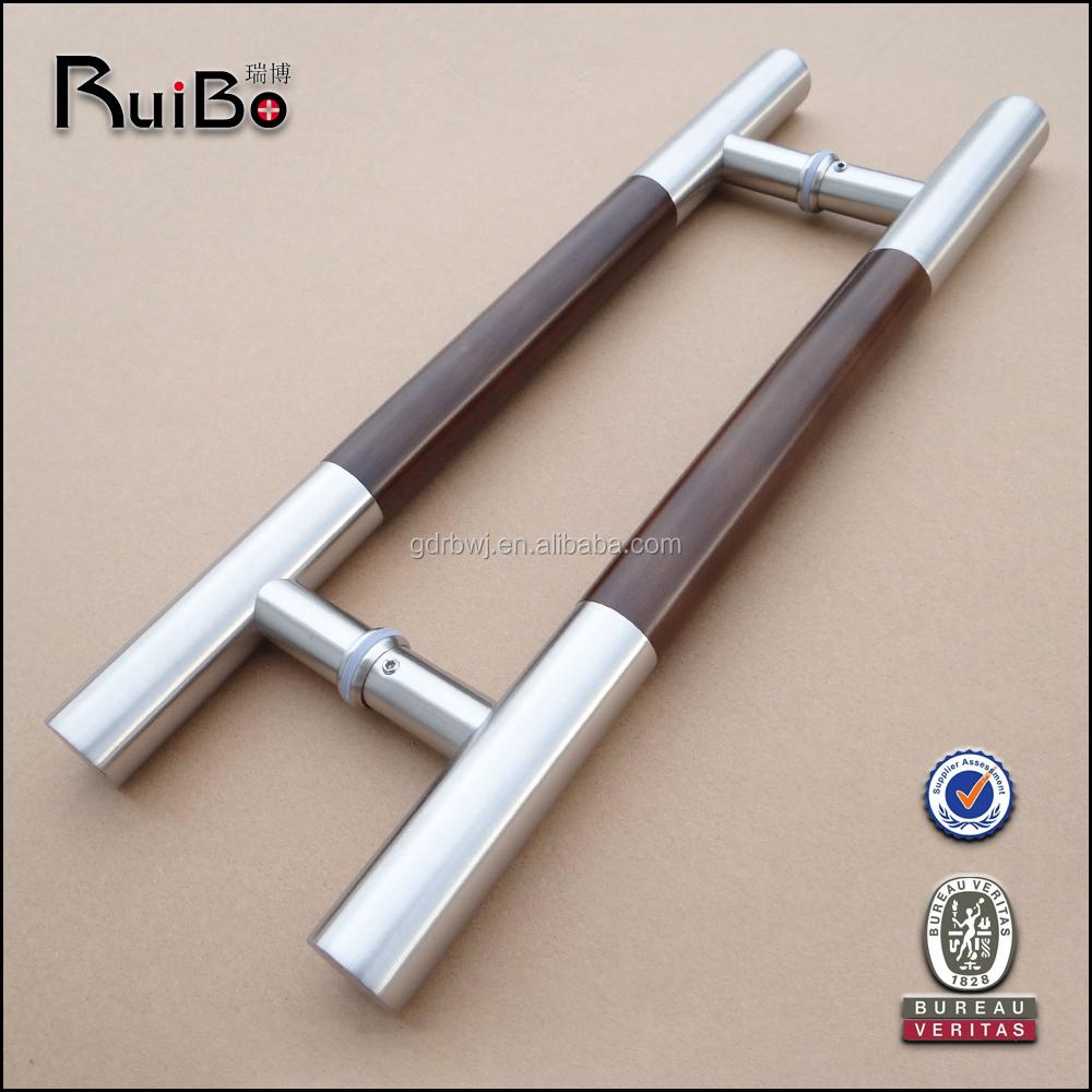 Rb 3119 made in china door handles stainless steel door for Door handle company