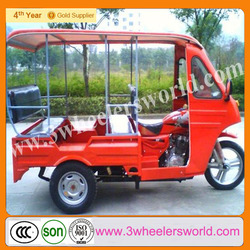 China used 150cc motorized passenger tricycle car/passenger three wheel motorcycle