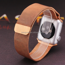 Luxury Metal WatchBand Stainless Steel Classic Buckle Adapter Watch Wrist Band For Apple iWatch Strap 38-42mm