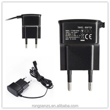 5v micro portable mobile phone charger for Motorola / LG / Blackberry / Nokia travel charger China wholesale