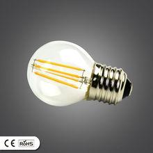 110LM/W 2013 hot e14 5w silver shell led bulb light