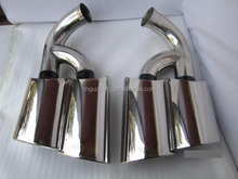 Most Popular exhaust tips for Prosche,Turbo Car Muffler 07-10