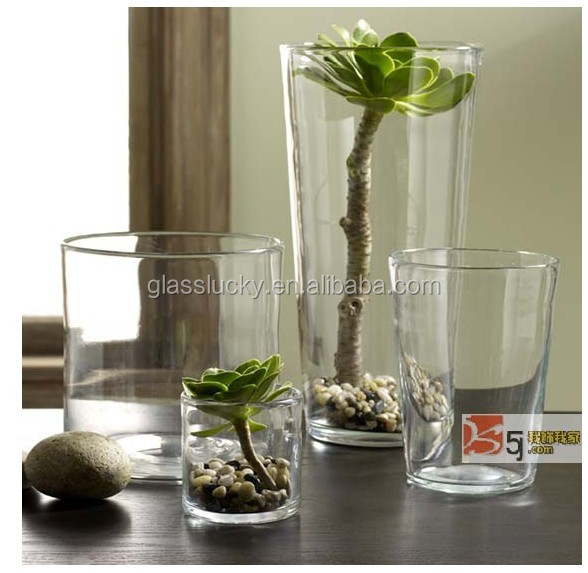 China Supplier Cylinder Vase Clear Tall Cylinder Glass Vase Buy