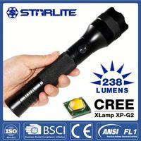 Strong light 2led dynamo flashlight